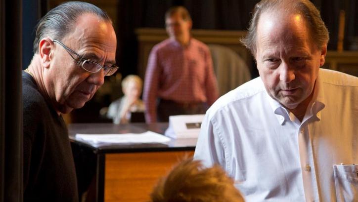Sven-David Sandström och Gustaf Sjökvist